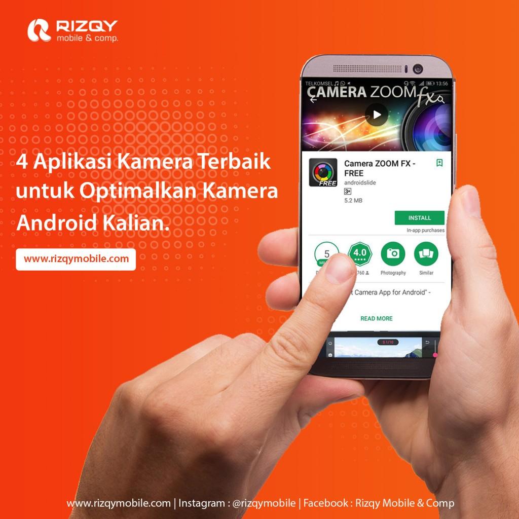 Rizqy Mobile Comp 4 Aplikasi Kamera Terbaik Untuk Smartphone