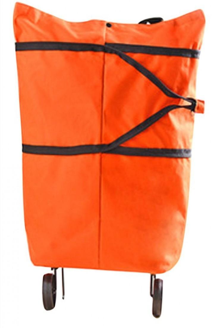 Tokuniku - Foldable Eco Style Shopping Trolley Bag - Tas Belanja Lipa  dengan Roda 6a01375177