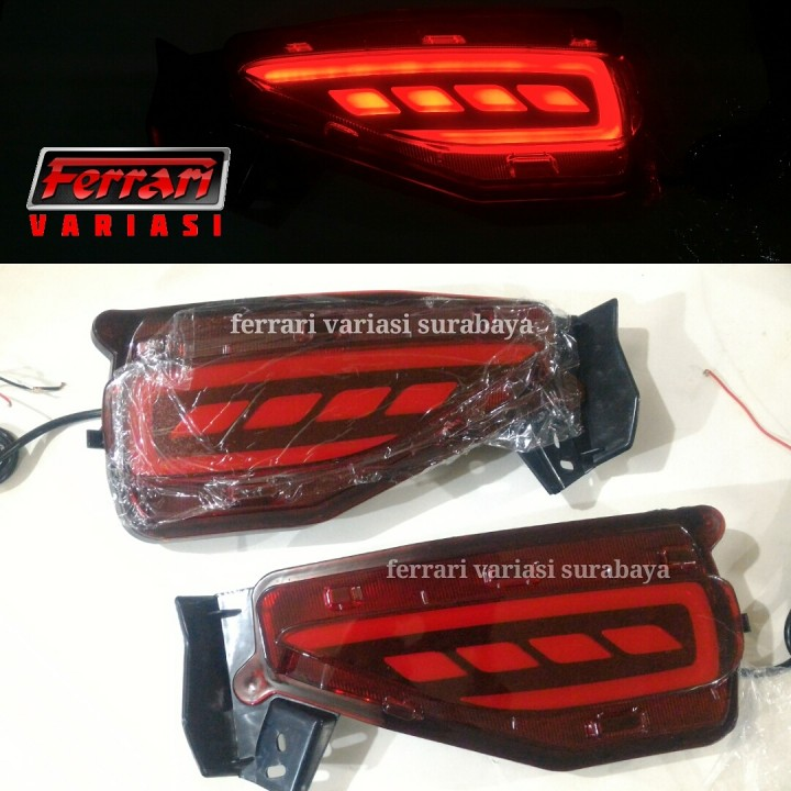 Ferrari Variasi Surabaya - Led bumper belakang all new ...