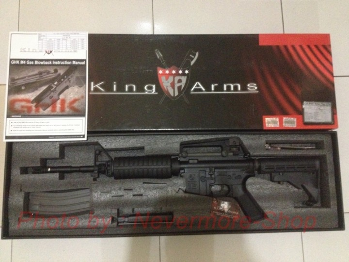NevermoreShop - King Arms Colt M4A1 Nylon Fiber Rifle with
