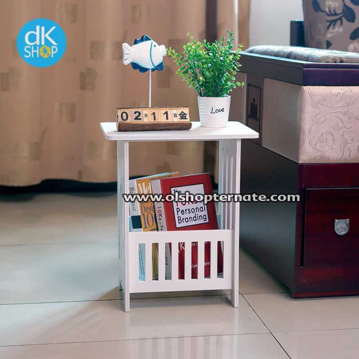 Dkshop Meja Sudut Coffee Majalah Table Seri M554