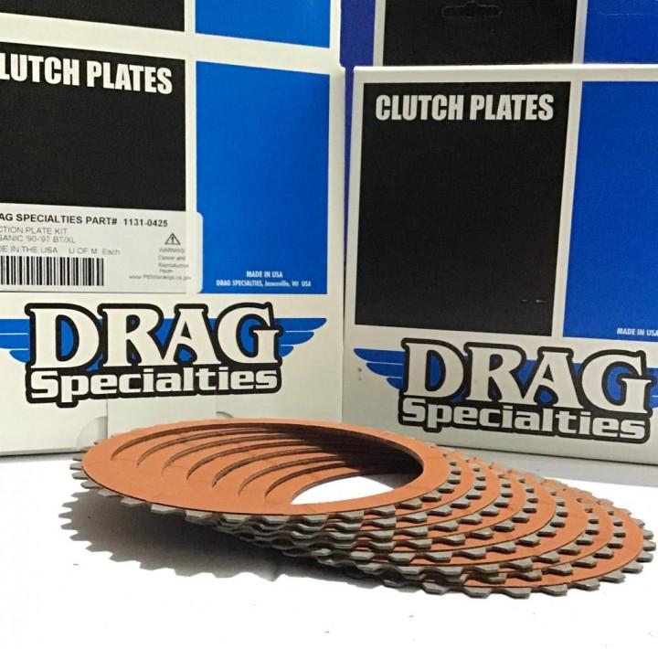 DE.SOUL Clutch Plate Disc for Harley Davidson Bad Boy Dyna Electra Glide Fatboy 90-97