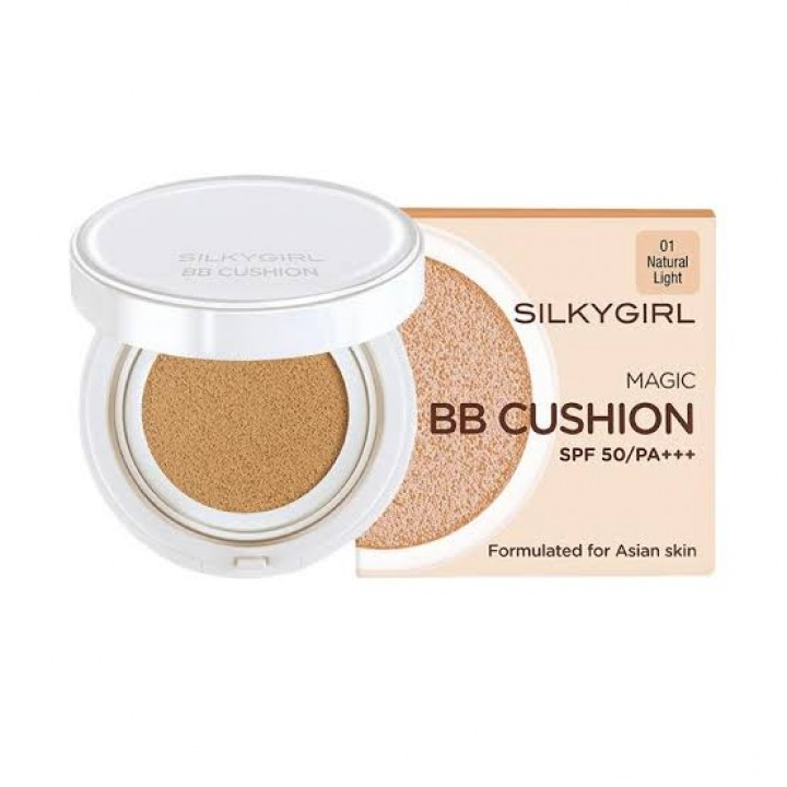 Silkygirl Magic BB Cushion 01 нүүрний крем