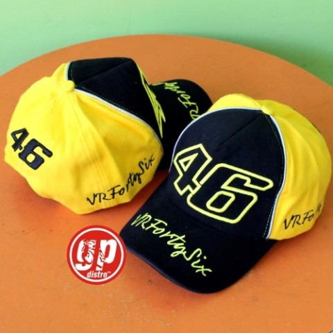 Topi 46 VRFortysix Black Yellow