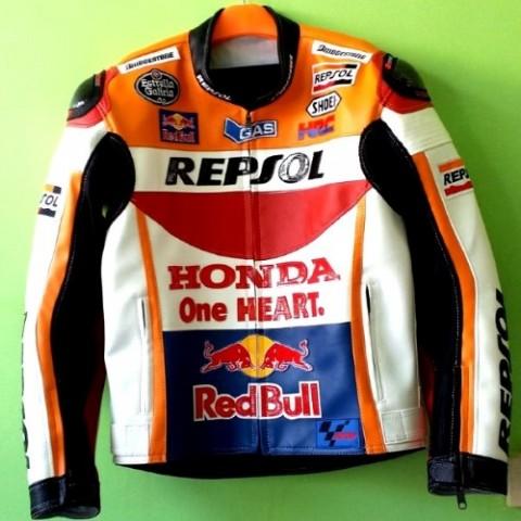 Jacket Kulit Repsol Rider 2015