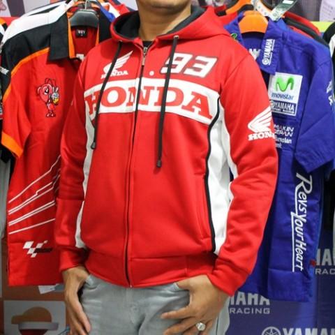 Sweater MotoGP Honda Marquez 93 Merah
