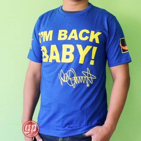 T Shirt Iam Back Baby Blue