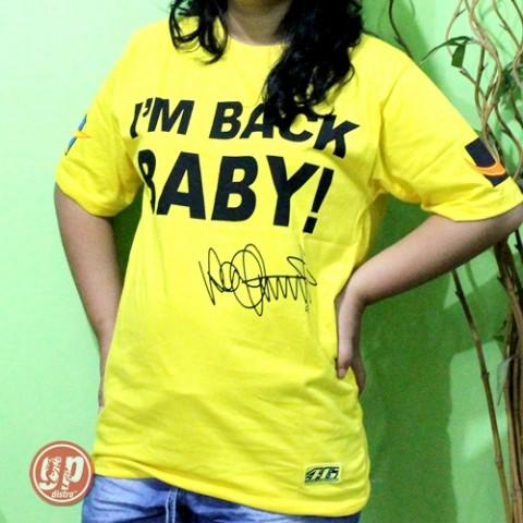 T Shirt Iam Back Baby Yellow