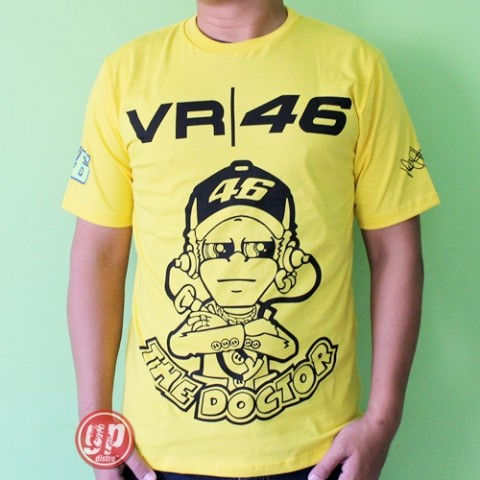 T Shirt VR46 The Doctor Yellow
