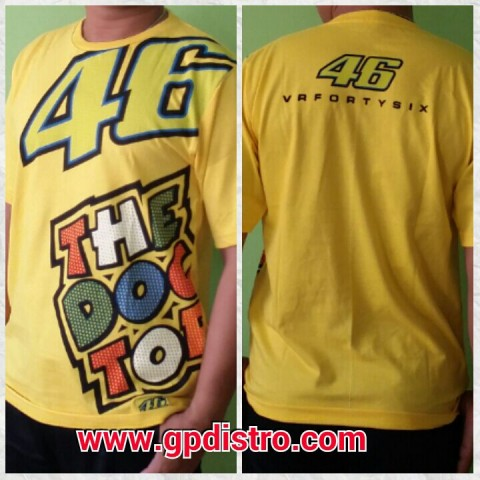 T Shirt 46 The Doctor Big Yellow