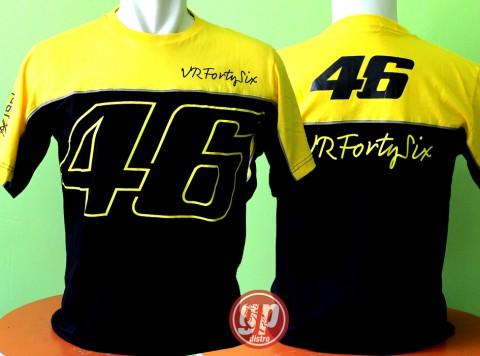 T Shirt 46 Vrfortysix Black Yellow