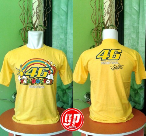 T Shirt Rainbow 46 Yellow