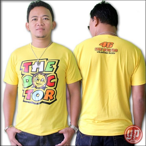 T Shirt Spandek The Doctor Yellow#02 (free size)