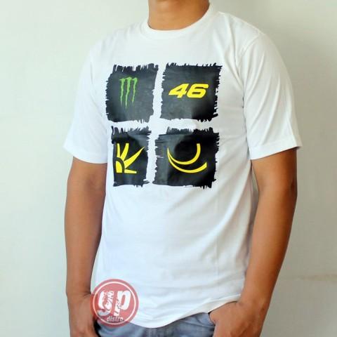T Shirt Monster 46 White
