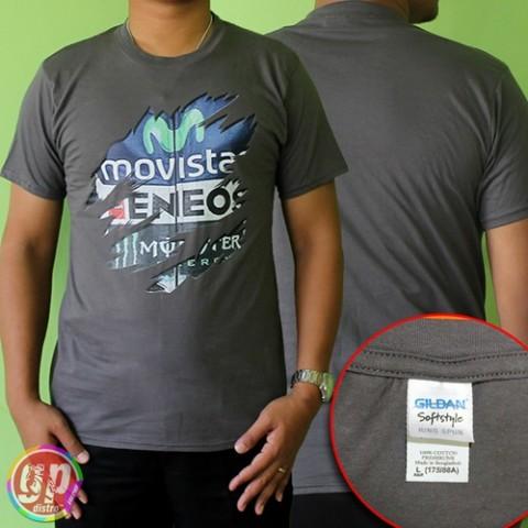 T Shirt 3D Movistar Grey