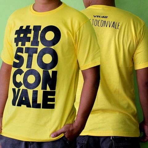 T Shirt Iostoconvale Yellow