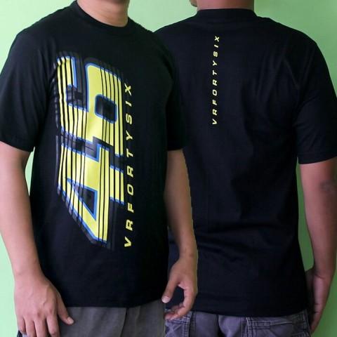 T Shirt 46 Fortysix Black