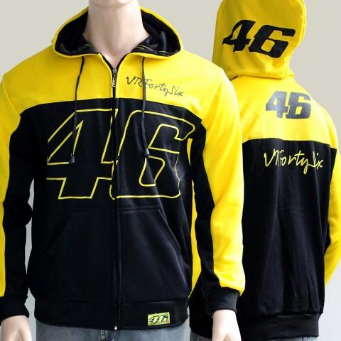 Sweater 46 VRFortysix Black Yellow