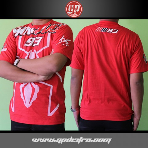 T Shirt Marquez 93 Ant Red