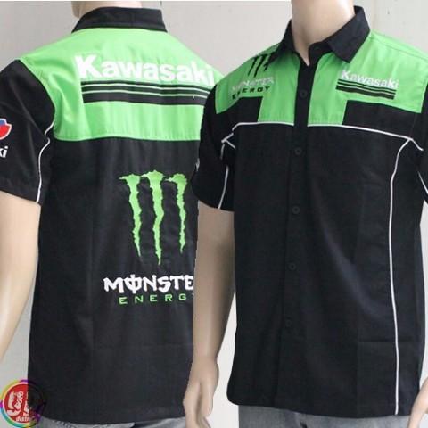 Kemeja Kawasaki Monster 2016