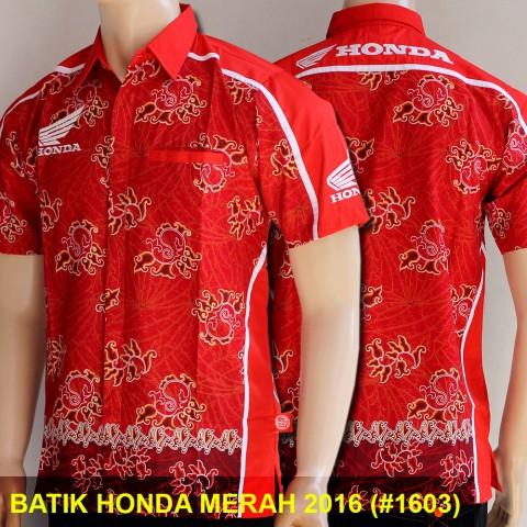 Batik Honda Merah #1603