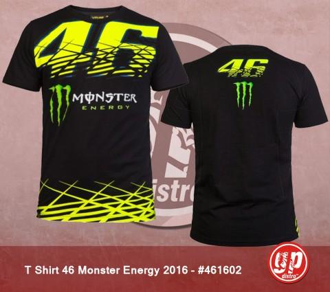T Shirt 46 Monster Energy Black 2016