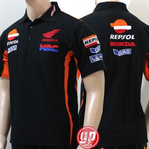 Polo Shirt Repsol  Black 2016