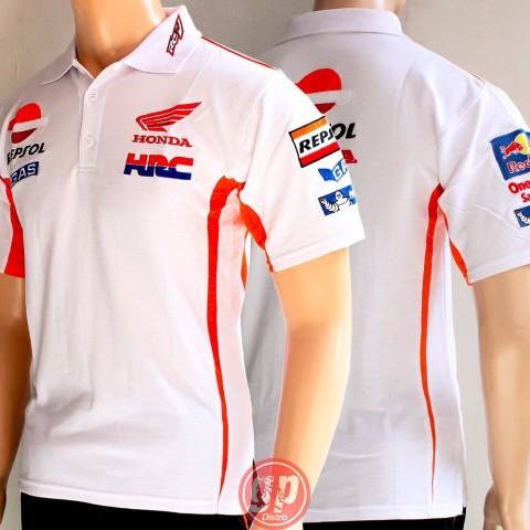 Polo Shirt Repsol White 2016
