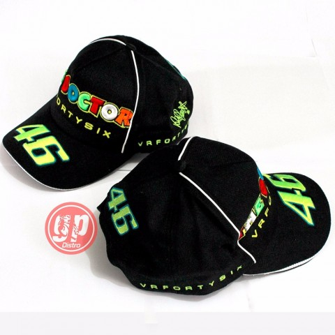 Topi The Doctor VRFortysix 46 Black