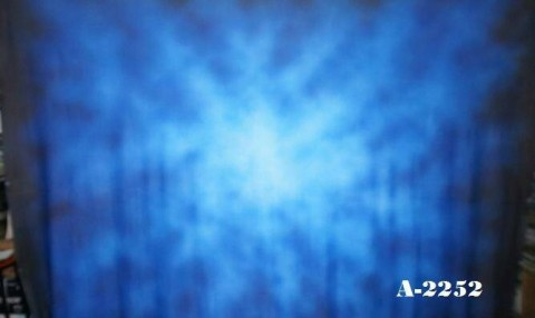 Background abstrak biru 2,5x3 meter