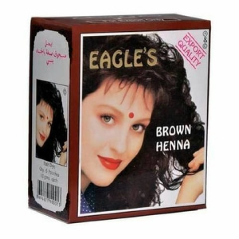 Hanstell Henna Cat Rambut Brown