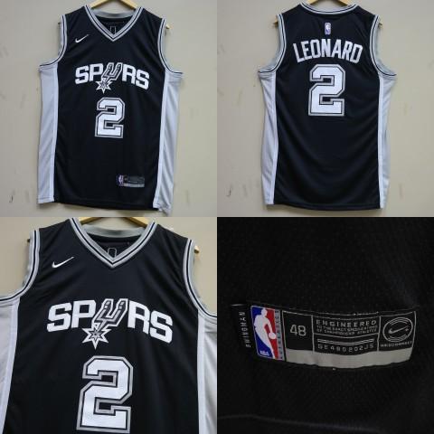 78375a44e48 JERSEY NBA SAN ANTONIO SPURS  2 LEONARD HITAM