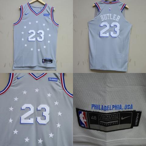 JERSEY NBA PHILADELPHIA 76ERS 23 JIMMY BUTLER CITY EDITION ABU 297ad1a2e