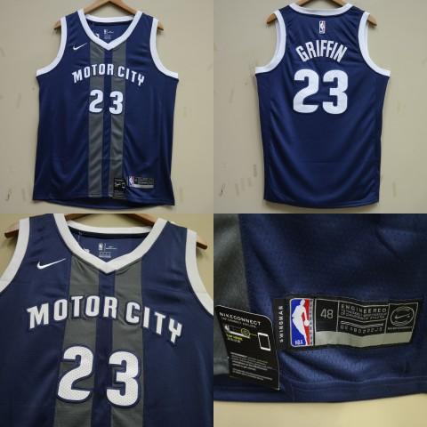 JERSEY NBA DETROIT PISTONS 23 BLAKE GRIFFIN CITY EDITION dbccdb114