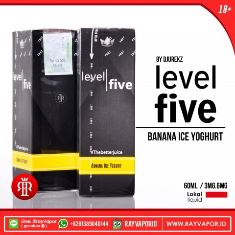 Rayvapor Level Five By Djurekz Banana Ice Yoghurt
