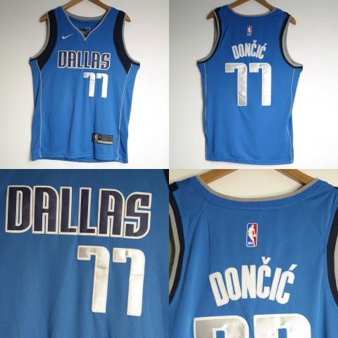 5e7a0df92ea JERSEY NBA DALLAS MAVERICKS  77 LUKA DONCIC BIRU