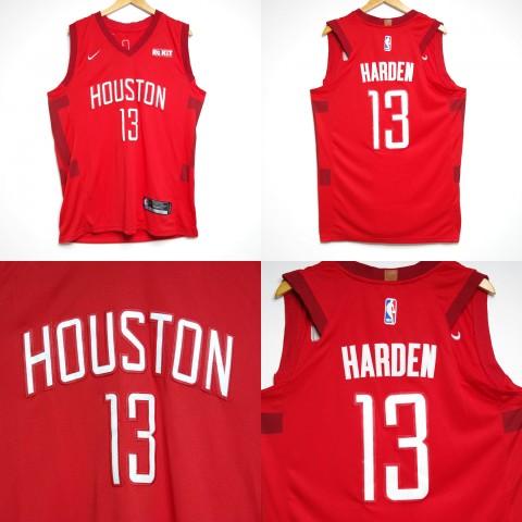 cb02a9503d8 JERSEY NBA HOUSTON ROCKETS  13 JAMES HARDEN MERAH